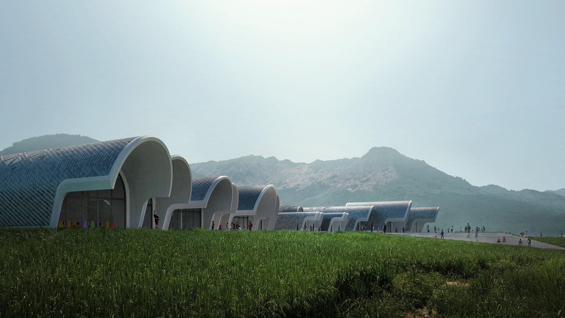 Zaha Hadid Architects // Rendered by ZHA