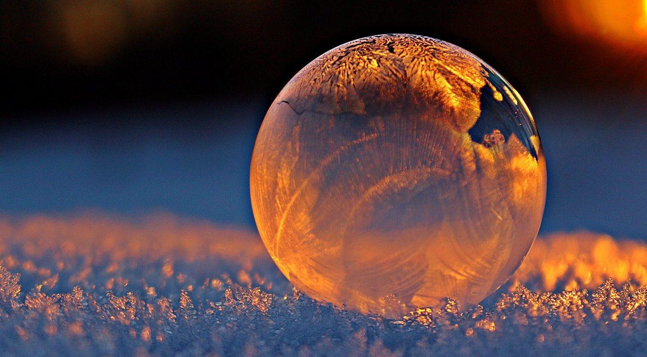 бульбашки на морозі